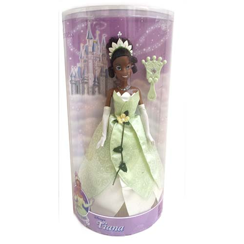Disney Doll - Tiana with  Jeweled Hair Brush