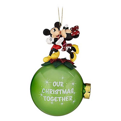 Disney Holiday Ornament - Our Christmas Together - Minnie & Mickey