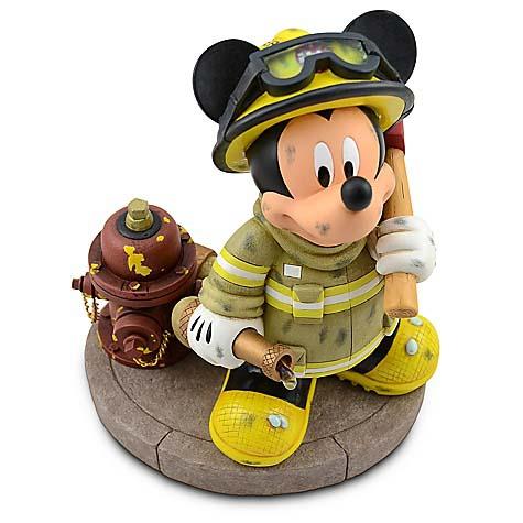 Your WDW Store - Disney Medium Figure Statue - Firefighter