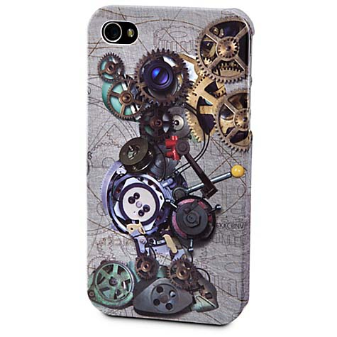 Disney iPhone 4 Case - Mickey Mouse - Gears Steampunk