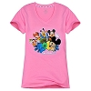 Disney Ladies Tee Shirt - 2012 Walt Disney World V-Neck Style