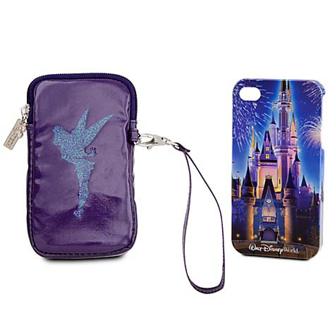 Disney iPhone 4 Case Set - Disney World Castle and Tinker Bell