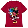 Disney Adult Shirt - 2012 Walt Disney World Red Tee