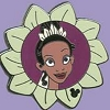 Disney Hidden Mickey Pin - 2011 Series - Tiana - Flower