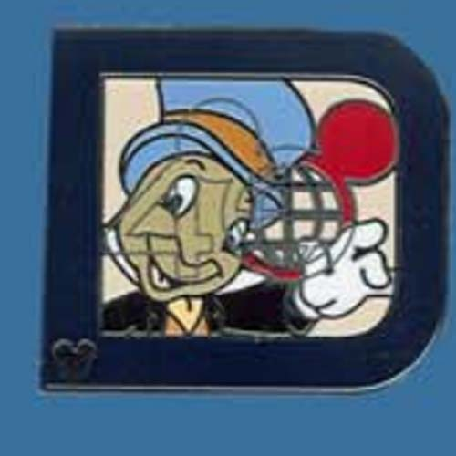 Disney Hidden Mickey Pin - 2011 Series - Classic 'D