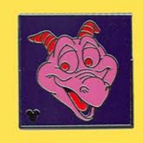 Disney Hidden Mickey Pin - 2011 Series - Figment Face - Purple