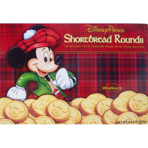mickey mouse shortbread rounds - Mickey Mouse Christmas Cookies