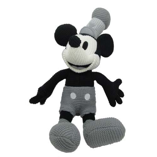 Your Wdw Store Disney Plush Mickey Mouse Crochet Knit