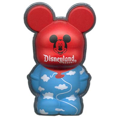 Disney vinylmation Magnet - 3D - Mickey Mouse Red Balloon Head - DLR