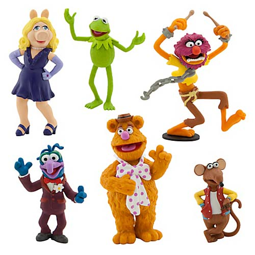 Top 50 Muppets Loc 80: Disney Figurine Set
