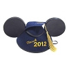 Disney Hat - Ears Hat - Graduation Class of 2012