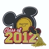 Disney Photo Frame Magnet - Class of 2012