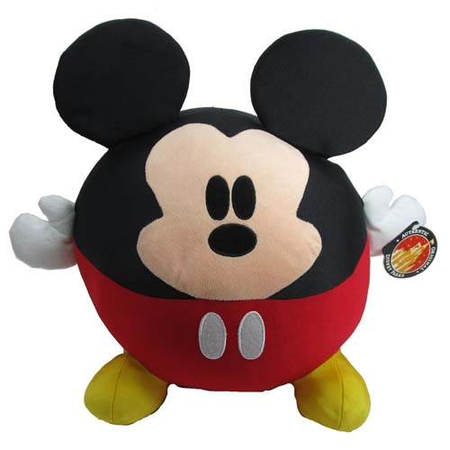 07c4a9a7d Disney Plush - Mickey Mouse - Baby Cutie Character - Large Round