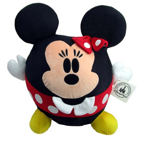 Disney Plush Minnie Mouse Baby Cutie Character Large Round