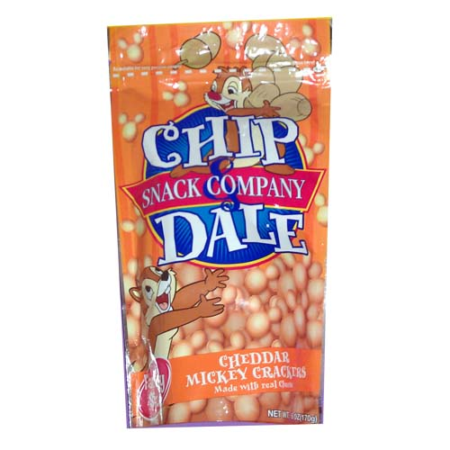 Disney Chip Dale Snack Co Bag Of Mickey Mouse Cheddar