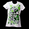 Disney Ladies Shirt - St Patrick's Day - Mickey Mouse