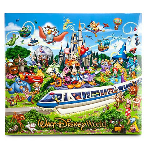 Disney Scrapbook Album 12 X 12 Storybook Walt Disney World
