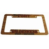 Disney License Plate Frame - Wilderness Resort and Campground