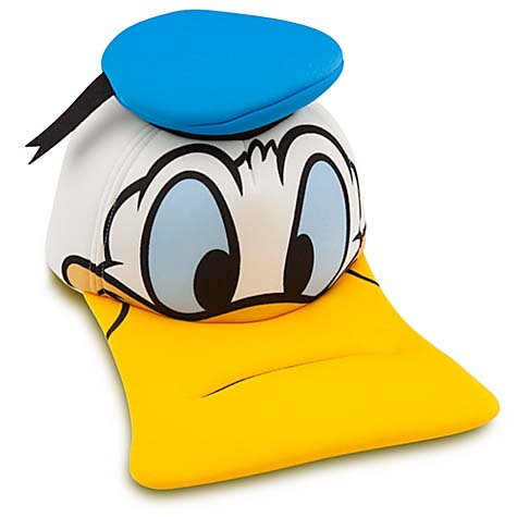 Disney Baseball Cap - Donald Duck - Sculptured Head 372c778ed13a