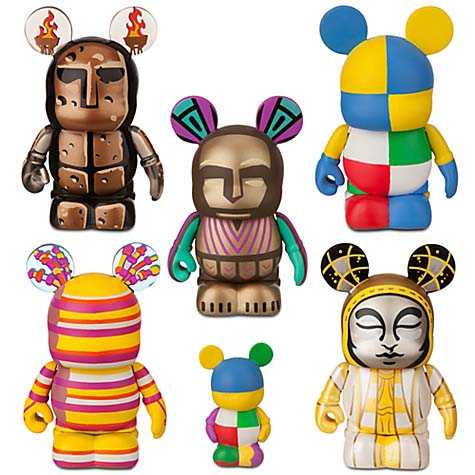 Disney vinylmation Set - Tapestry of Nations 6 pc set