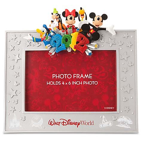 Your WDW Store - Disney Picture Frame - 2012 Mickey and Pals Resin ...