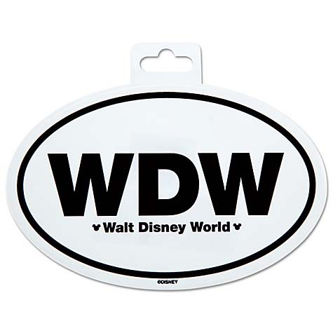 Disney car decal walt disney world car sticker