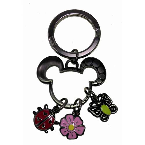 Disney Key Chain Ring - Flower and Garden Festival - Icons
