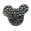 Disney Mini Hair Clip - Mickey Mouse Ears - Bling Silver