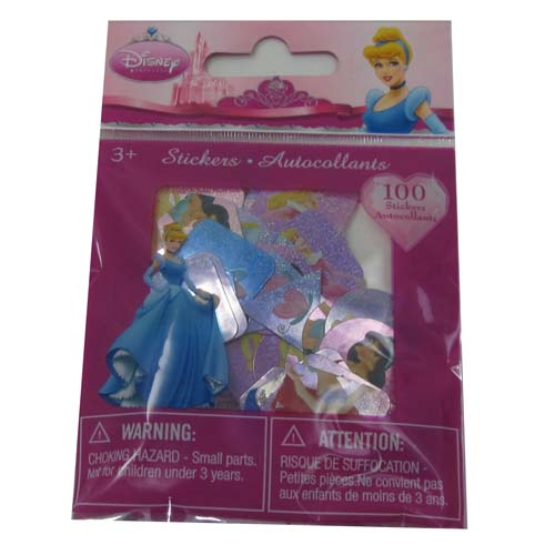 Disney Sticker Collection - Die Cut Stickers - Princesses