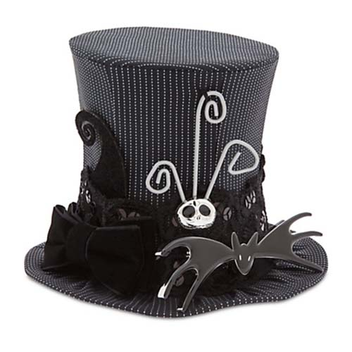 953b41b801d22 Disney Mini Top Hat - Nightmare before Christmas Jack Skellington