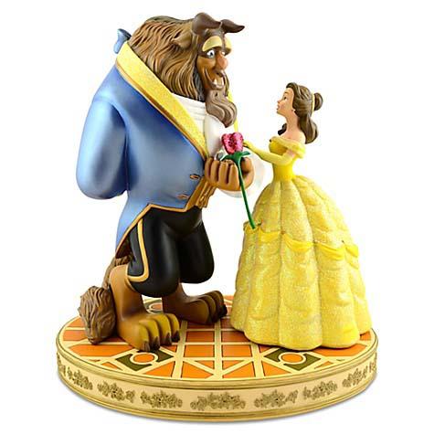 Disney Medium Figure Statue Beauty And The Beast Belle