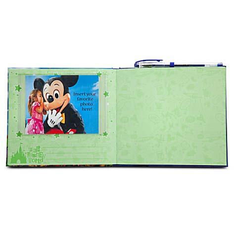 Walt Disney World Autograph Book And Pen