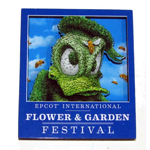 Disney Magnet - Flower and Garden Festival - Donald Duck