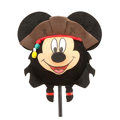 your wdw store - disney antenna topper - pirate mickey mouse