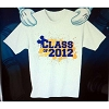 Disney Adult Shirt - Graduation - Class of 2012