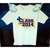 Disney Child Shirt - Graduation - Class of 2014