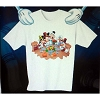 Disney Adult Shirt - Thanksgiving Feast - Mickey and Pals at Table