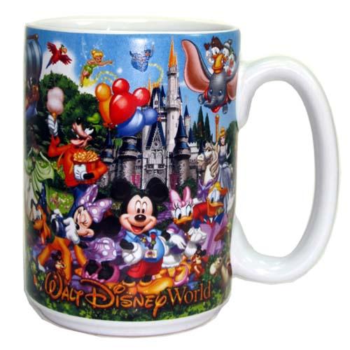 Disney Coffee Cup Mug Storybook Attractions Grandpa