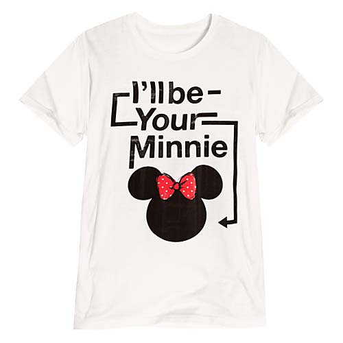 Disney Ladies Shirt - Minnie Mouse Tee - I'll Be Your Minnie