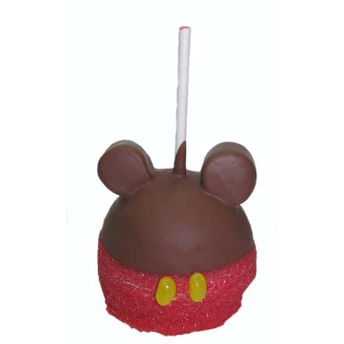 Disney Goofy Candy Co Caramel Apple Mickey Mouse Specialty Candy