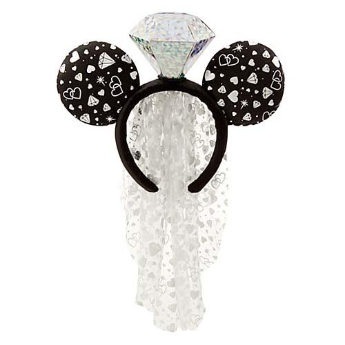 Add to My Lists. Disney Headband Hat - Minnie Mouse Ears - Wedding ... 77051bd59bf