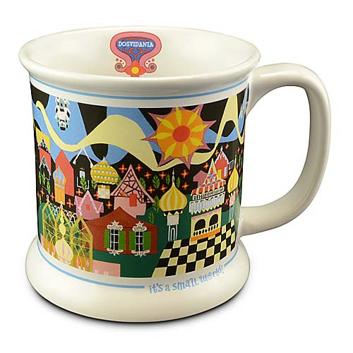 Disney Coffee Cup - it's a small world! - Russian