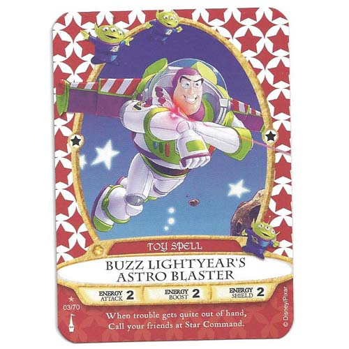 Disney Sorcerers of Magic Kingdom Cards - Buzz Lightyear