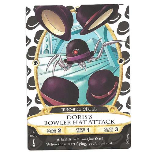Disney Sorcerers of Magic Kingdom Cards - Doris