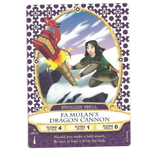 Disney Sorcerers of Magic Kingdom Cards - Fa Mulan