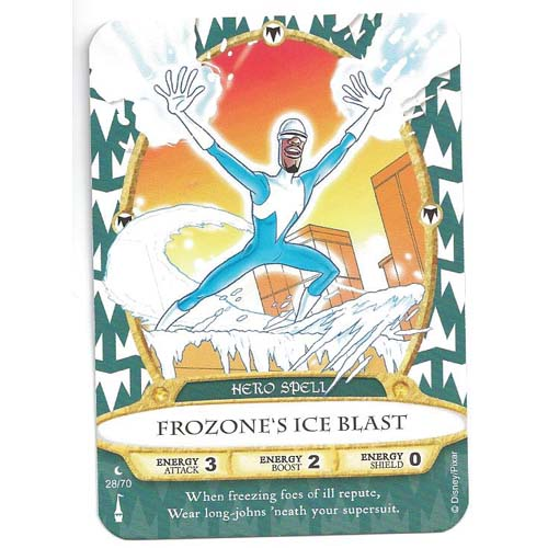 Disney Sorcerers of Magic Kingdom Cards - Frozone