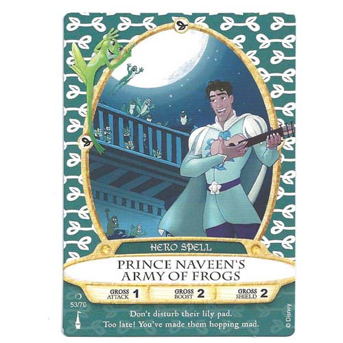 Disney Sorcerers of Magic Kingdom Cards - Prince Naveen