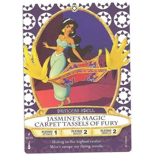 Disney Sorcerers Of Magic Kingdom Cards Jasmine