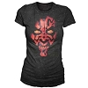 Disney ADULT Shirt - Star Wars Weekends 2012 Darth Maul LADIES