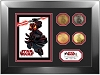 Disney Framed 4 Coin Set - Star Wars Weekends 2012 Darth Maul